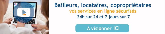 Visionner les vidéos des services en ligne d'Immo de France