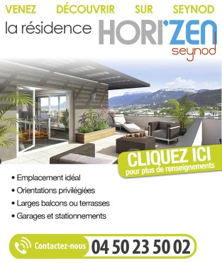 Programme neuf à Seynod - Venez découvrir sur Seynod la résidence Horizen