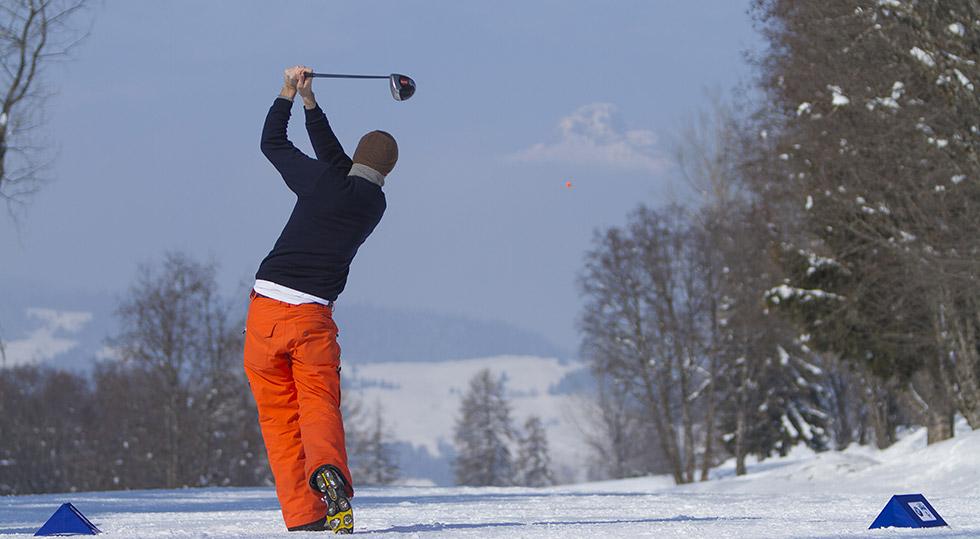 Golf et activités détente sur Megève et sa station
