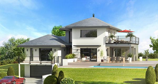 Promoteur immobilier sur annecy annemasse et aix les bains for Constructeur maison haute savoie