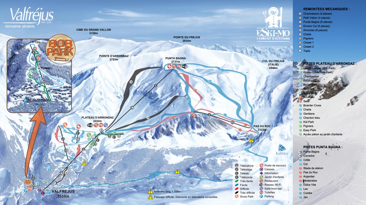 Ski Resort 4 Valfréjus Valfréjus La Vanoise France